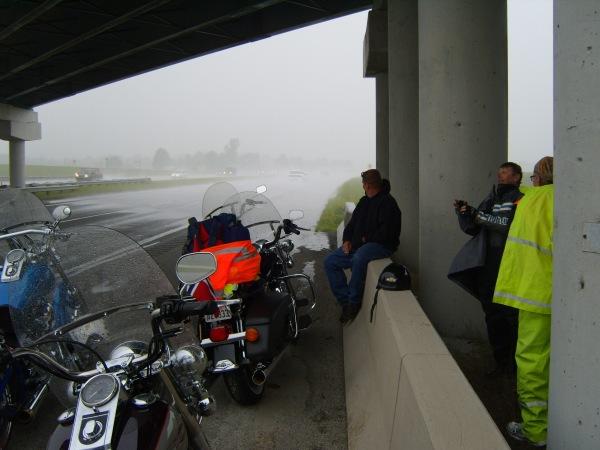 Rain outside Indianapolis
