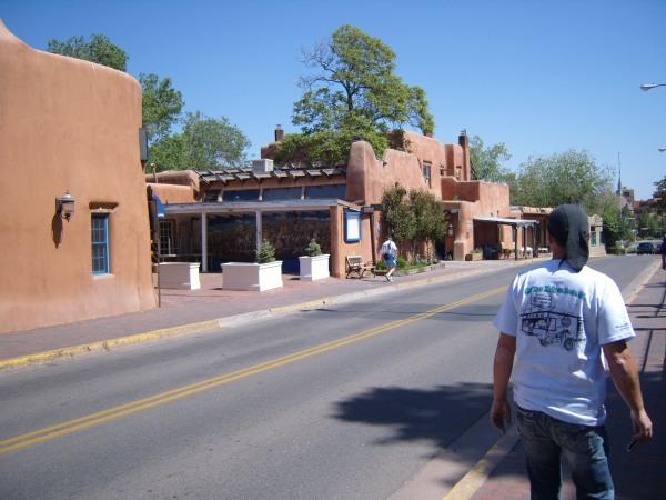 Walking in Santa Fe