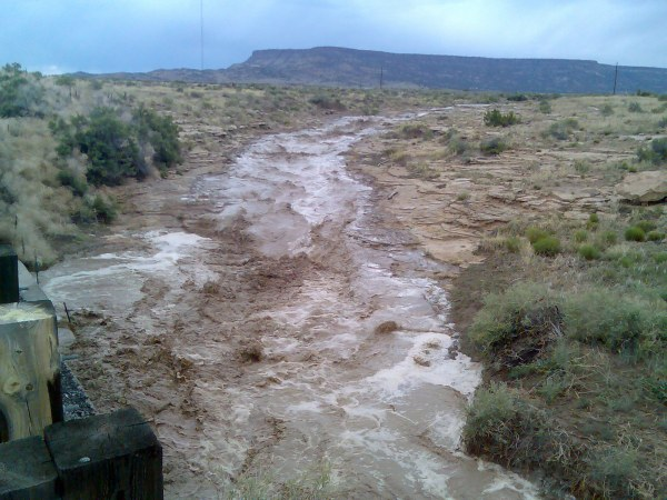 heavy rain made rivers