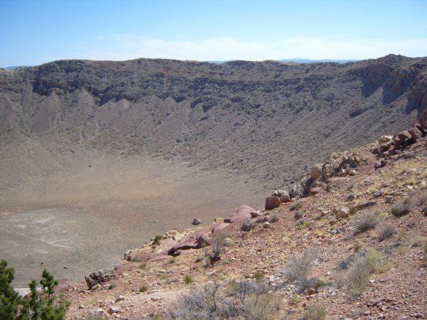 meteorite crater