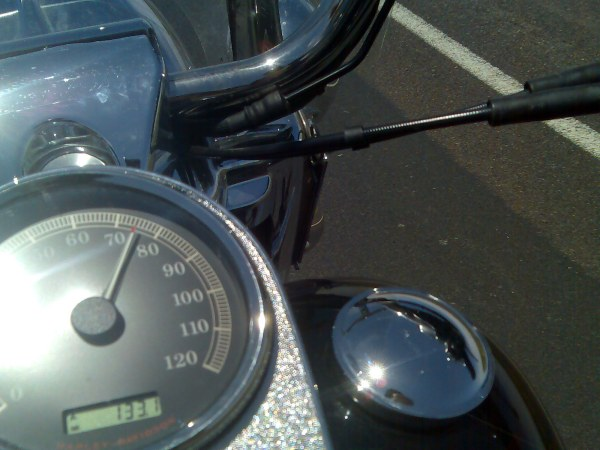 cruising speed of about 75miles