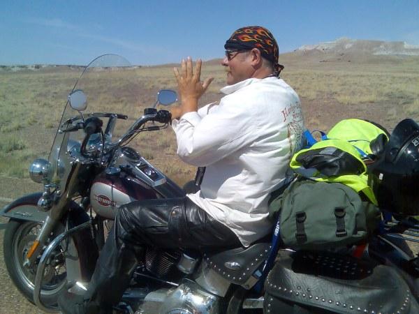 Greate riding in Arizona