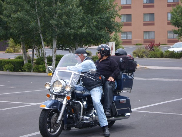 Bikers in Grand Canyon