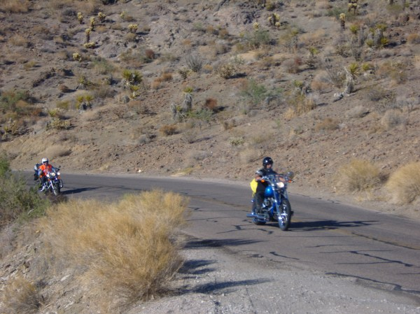 Route 66 after Kingmann and Barstov