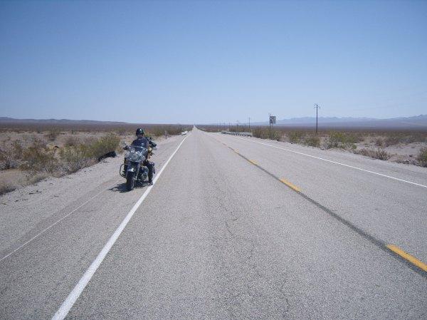 Endless straight roads