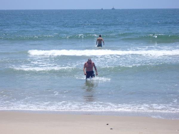 Swim in the Pacific