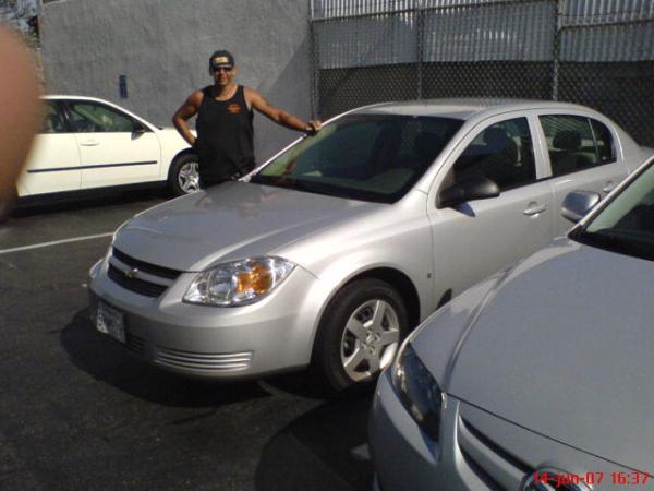 Rental car in Los Angeles