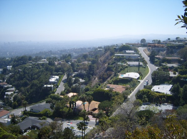 View from Beverly Hills