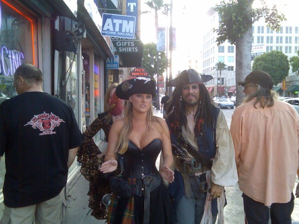 Pirates of the caribbean, Hollywood blvr.