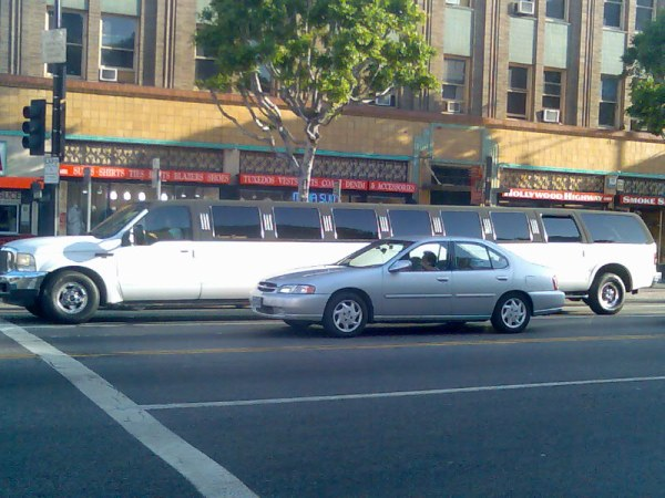 Limousines in Los Angeles
