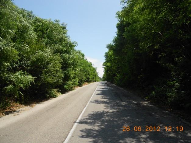 Typisk Bulgarsk landevei