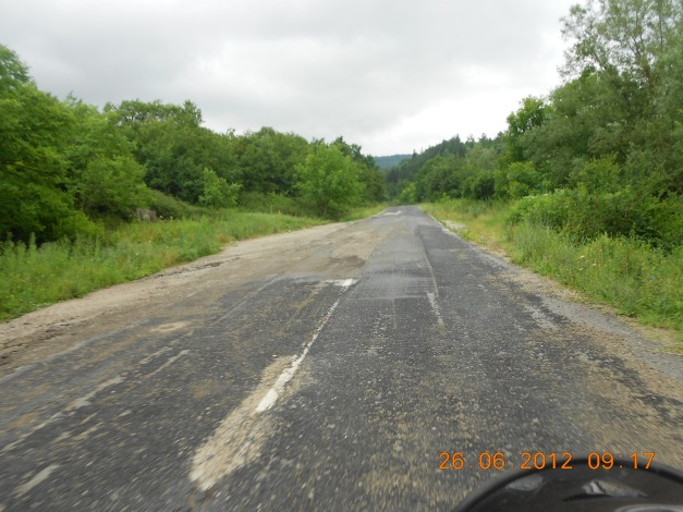 Dårlige Bulgarske landeveier
