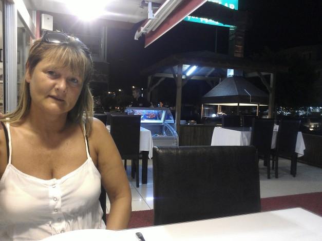 På restaurant i Antalya