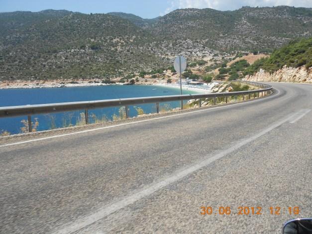 Veiene rundt Kemer, Tyrkia