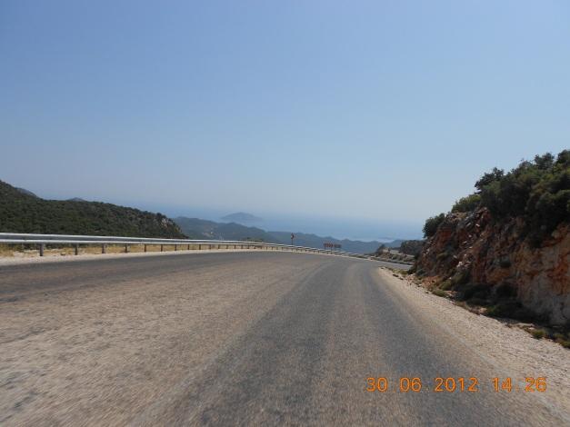 Tyrkiske landeveier langs kysten