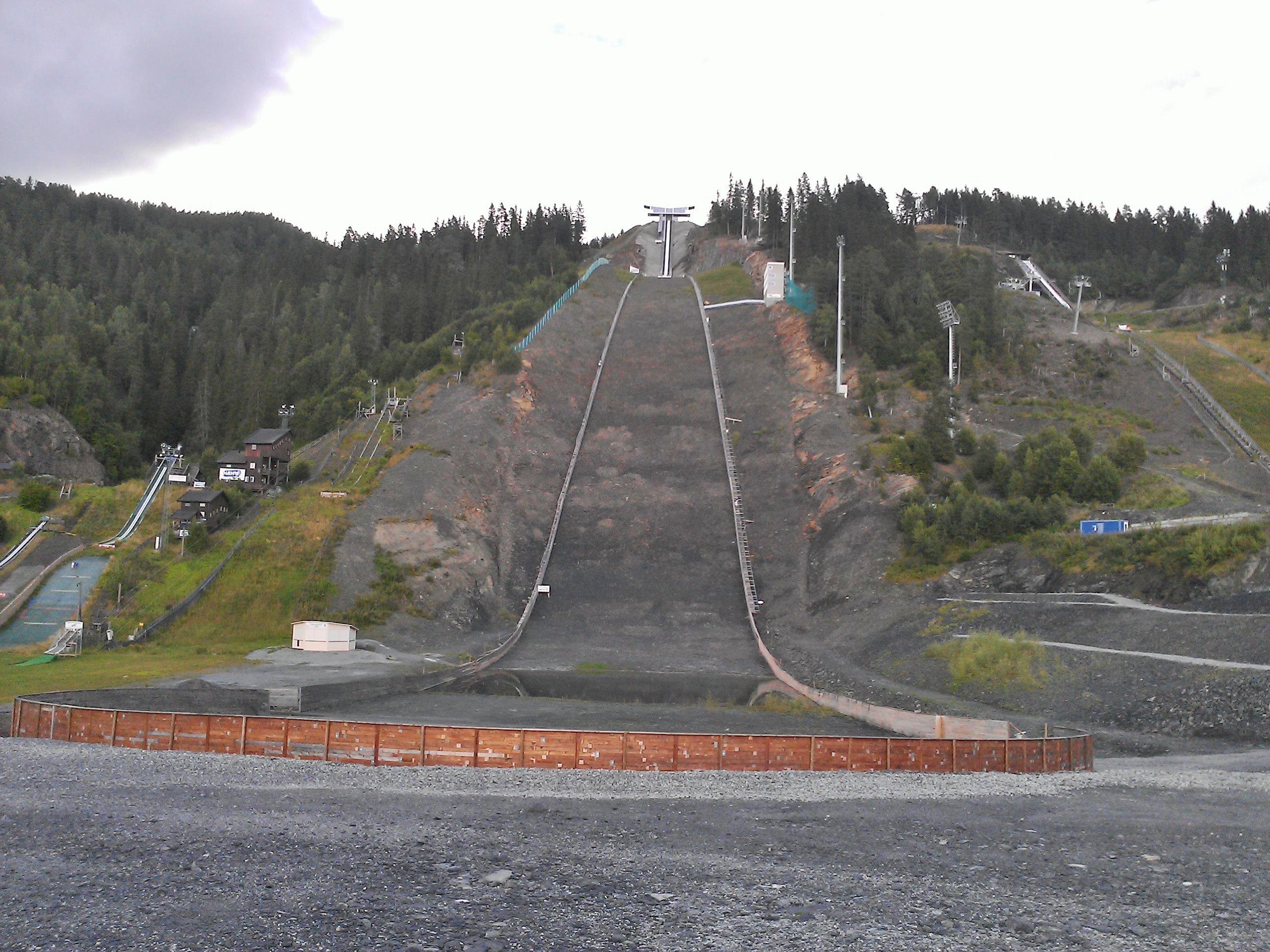 Vikersund Ski Jump Hill - Biggest Hill In The World