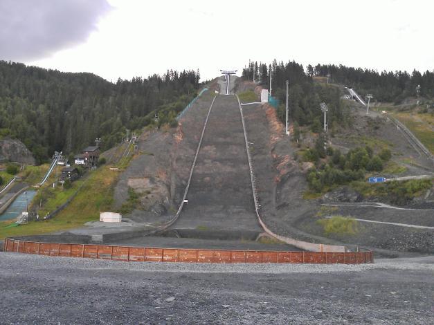 Vikersund Ski Jump Hill - Biggest Hill In The World