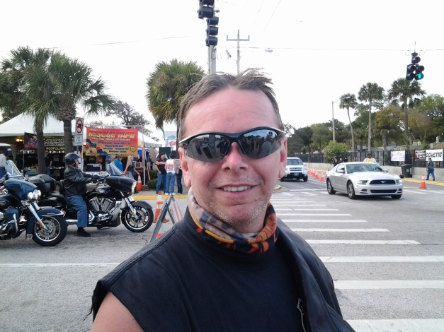 Me at Daytona Bike Week 2013