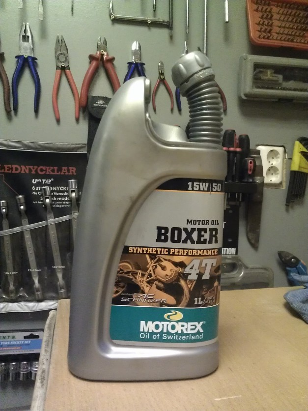 BMW F800GS motor oil 15W/50 Syntetic Performance