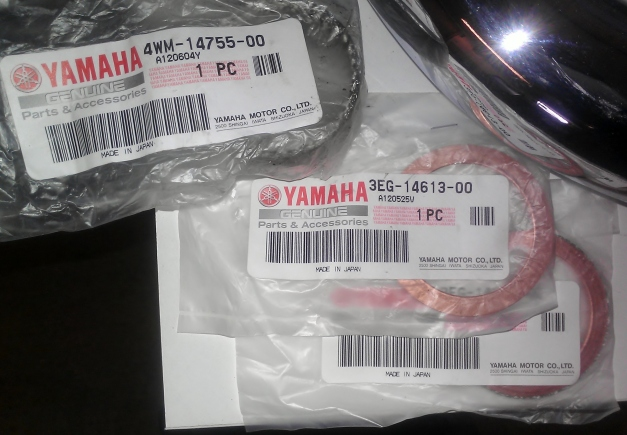 Yamaha Road Star XV1700 Warrior Exhaust Gaskets