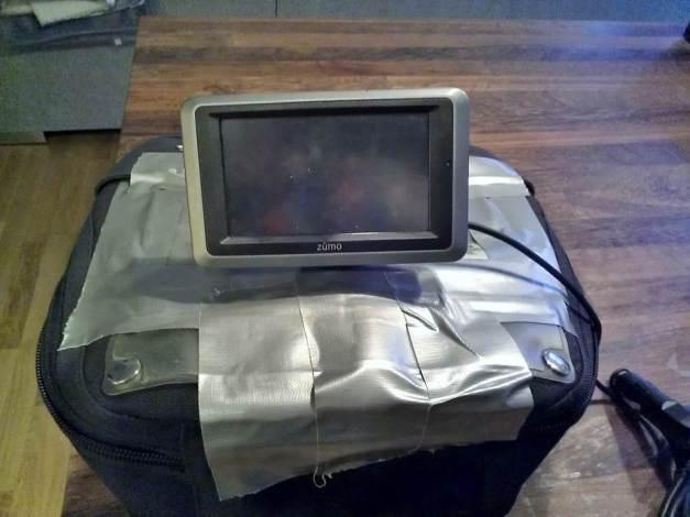 GPS holder til Garmin Zumo 660LM :-)