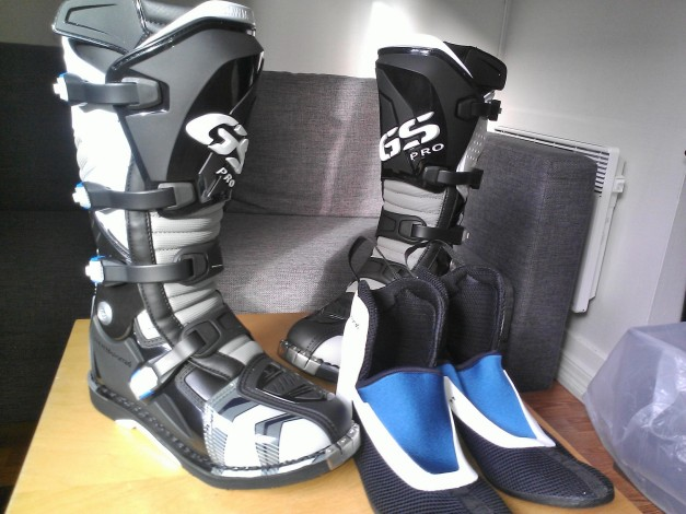BMW Rallye GS Pro Boots Article number 76 22 8 541 078 Color: black/gun