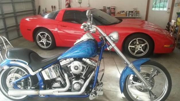 Corvette and Thunderbolt