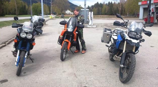 Yamaha KTM og BMW