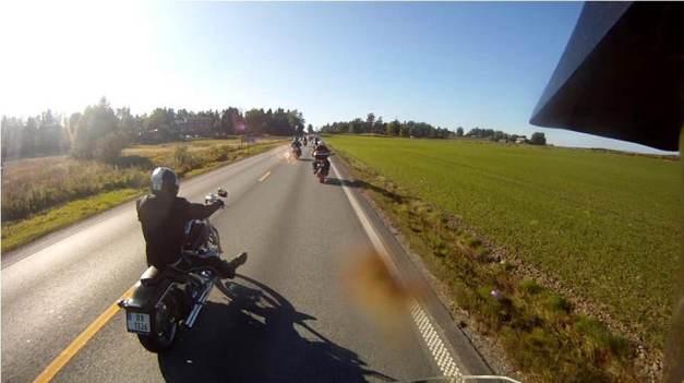 På vei til/fra Töckfors