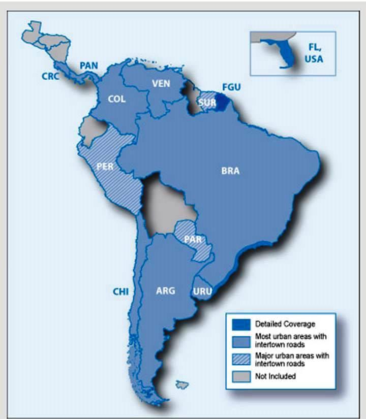 Garmin Zumo 660lm Kart Syd Amerika It S Not The Destination But