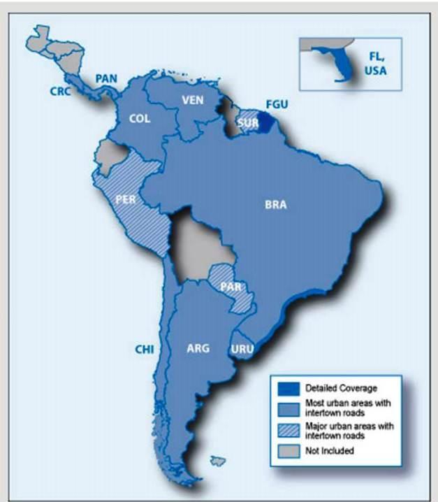 Garmin Zumo 660 South America NT