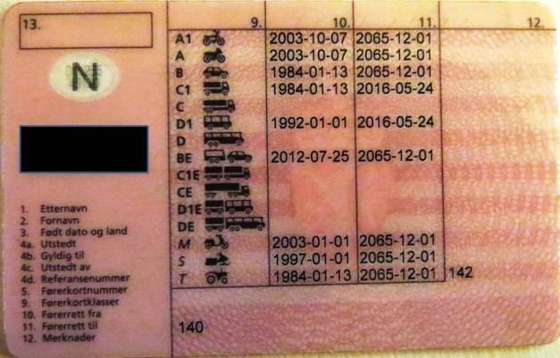 EU-EØS førerkort