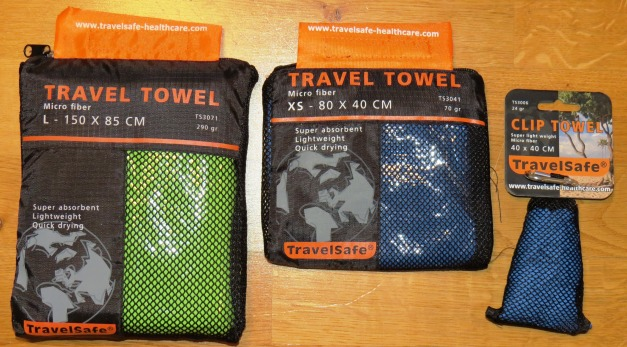 Micro Fiber Clip Towel from http://travelsafe-healthcare.com