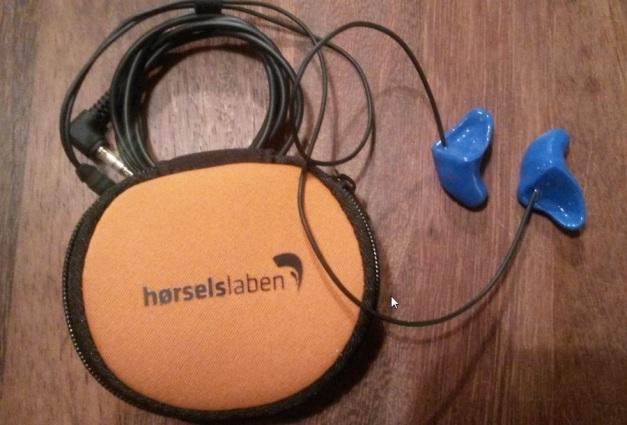 Hørselslaben Mc-headsett