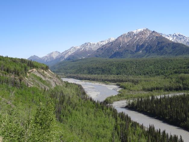 Top of the world road Yukon