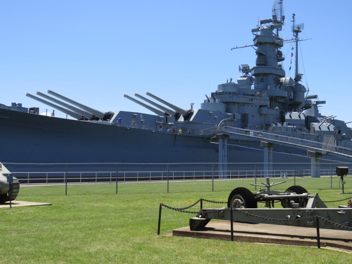 Battleship Memorial Park in Alabama