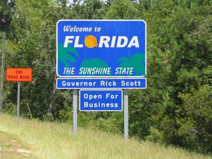 Florida State Line