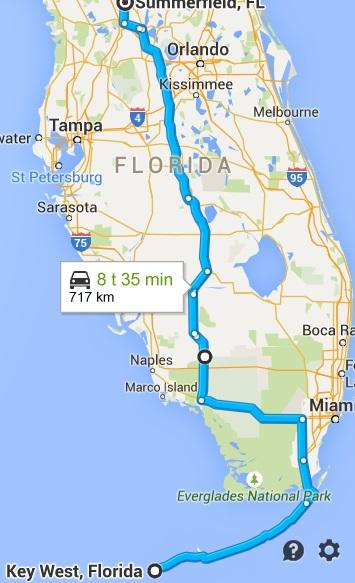 Key_West_Florida_til_Summerfield_Florida