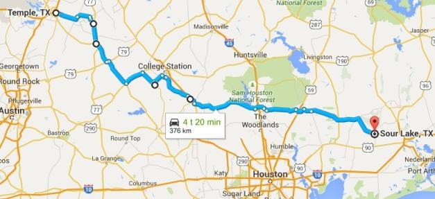 Route Texas