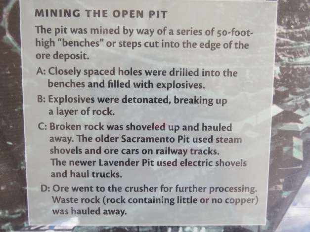 Bisbee Arizona open-pit mining