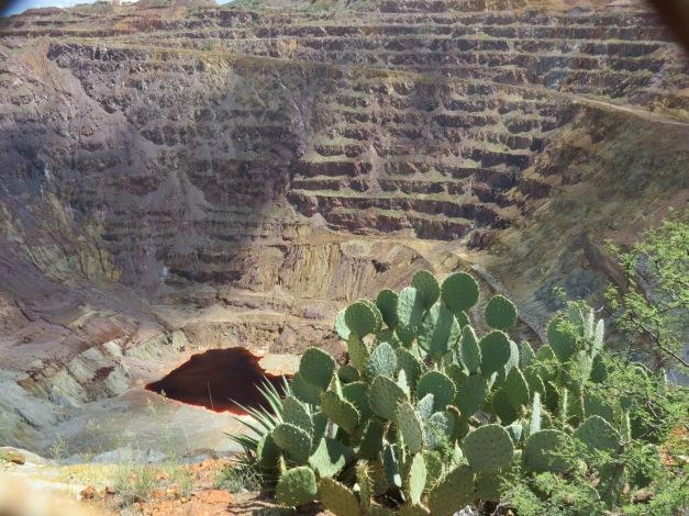Bisbee Arizona open-pit mining