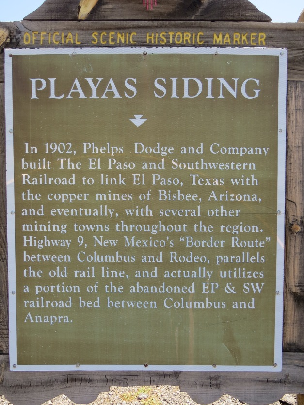 El Paso - Tombstone Historical_marker_sign