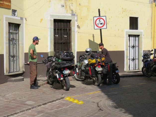 Dennis and Ryan in Guanajuato, Gto., Mexico