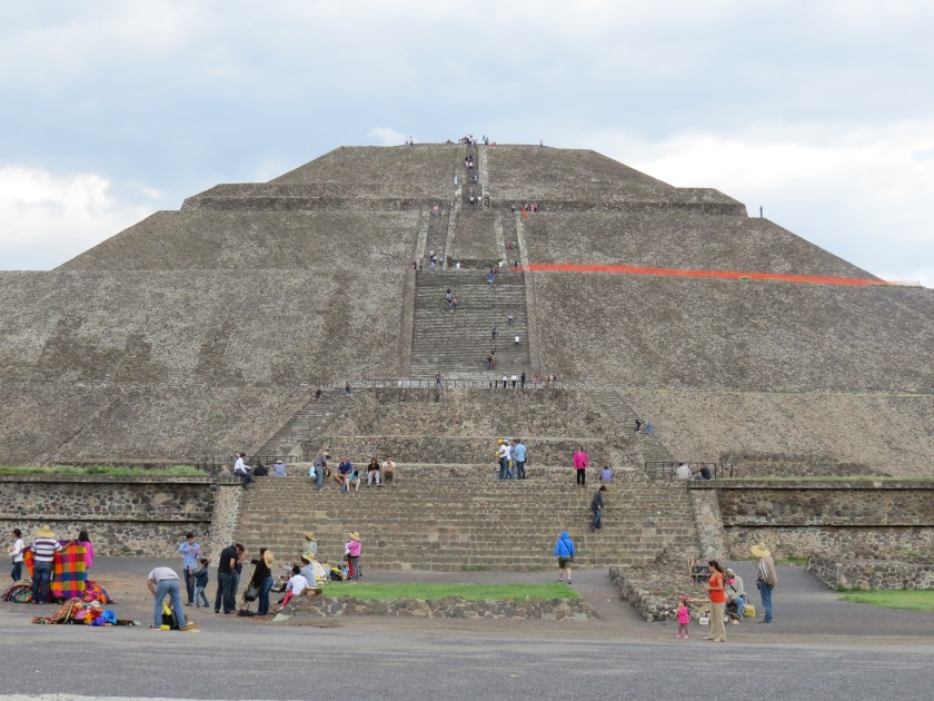 Teotihuacán, pyramid of the sun