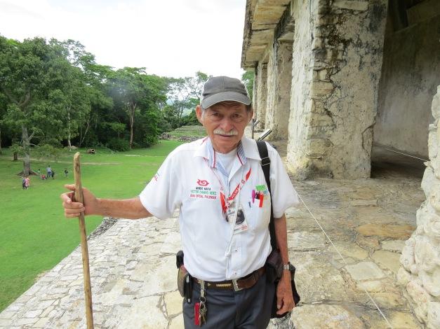 Victor Damas Hdez, Zona Arqueológica de Palenque