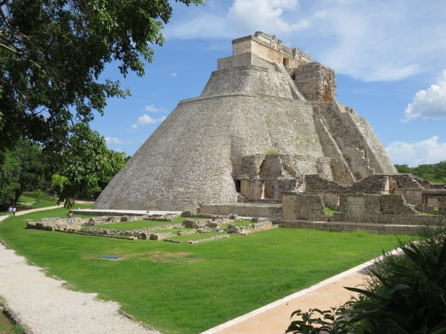 Pyramid of the Magician, Uxmal Yucatec Maya