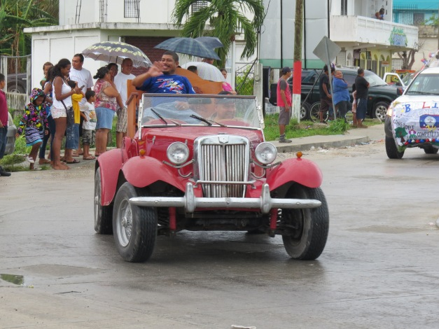 Carnival Parade Corozal Belize 2015