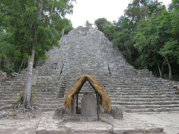Nohoch Mul Pyramid Coba, Mexico