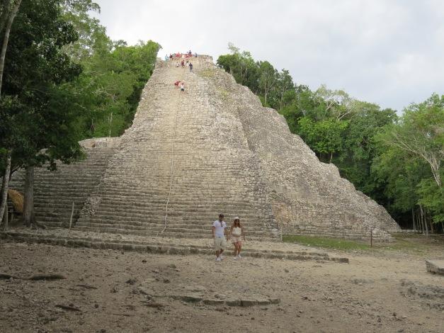 Nohoch Mul Pyramid Coba, Mexico (10)