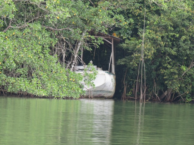 Boat trip from Rio Dulce to Livingston Guatemala